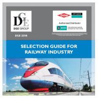 Nová brožúra - Sprievodca výberom produktov pre železnice